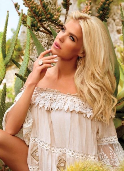 VICTORIA SILVSTEDT L'OFFICIEL BALTIC TOP MANLY OA18 35T